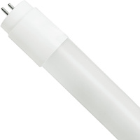 4 ft. T8 LED Tube - 1800 Lumens - 12 Watt - 5000 Kelvin - 120-277V - Ballast Must Be Bypassed - Double-Ended Power Allows Use of Existing Sockets - Case of 16 - LifeBulb LBW8F1250-CS