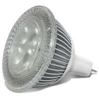 415 Lumens - 2700 Kelvin - LED MR16 - 6 Watt - 50W Equal - 40 Deg. Flood - 12V - GU5.3 Base - MSi xMR1627400D