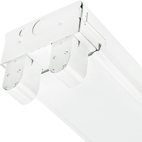 8 ft. x 4.25 in. - Fluorescent Strip Fixture - Medium Body - Operates 2 F96T8HO Lamps - Lamps Not Included - 120-277V - PLT C296T8HOMV