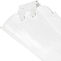 4 ft. x 10 in. - Fluorescent Strip Fixture - Requires (2) F32T8 Lamps - Lamps Not Included - 120-277 Volt - Lithonia L232 MV