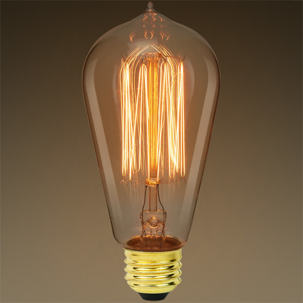 40 Watt - Edison Bulb - 5.13 in. Length Image