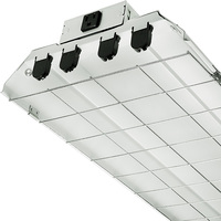 4 ft. x 12 in. - Fluorescent Strip Fixture - Requires (4) F32T8 Lamps - Lamps Not Included - 120 Volt - Lithonia 1284GRD RE