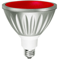 Red LED - PAR38 - 7 Watt - 40W Equal - 35 Deg. Flood - Wet Location