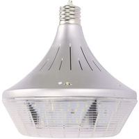 19,800 Lumens - 150 Watt - LED HID Retrofit - 400W Metal Halide Equal - 5000 Kelvin - Mogul Base - Vertical Mount - Operates by Bypassing Existing Ballast - PLTB534