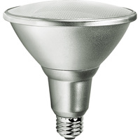1200 Lumens - 5000 Kelvin - LED - PAR38 - 15 Watt - 90W Equal - 25 Deg. Narrow Flood - CRI 80