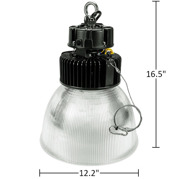 led high bay 13 000 lumens 100w plte6112