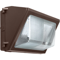 9200 Lumens - 5000 Kelvin - 75 Watt - LED Wall Pack - Equal to a 400W MH and Uses 81% Less Energy - 120-277V - PLT-11192