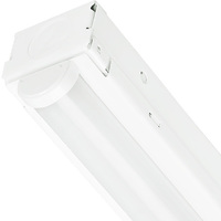 2300 Lumens - 4000 Kelvin - 4 ft. Integrated LED Strip Light Fixture With Lens - 25 Watt - Width 1.8 in. - Height 1.9 in. - 120-277V - Lithonia CMNS L46 1LL MVOLT 840