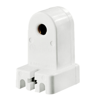 Leviton 467 - T8 or T12 Slimline - Stationary Lampholder - Pedestal Style - Single Pin Socket