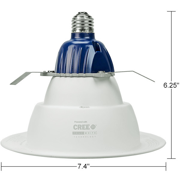 CREE-CR6-800L-27K12-E26 - 6 in. Downlight - LED Image