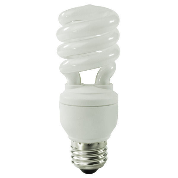 Spiral CFL - 13 Watt - 60W Equal - 4100K Cool White Image