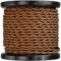 100 ft. Spool - Rayon Antique Wire - Light Bronze - 18 Gauge - Twisted Cord