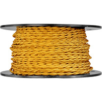 250 ft. Spool - Rayon Antique Wire - Gold - 20 Gauge - Twisted Cord