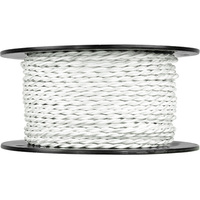 250 ft. Spool - Rayon Antique Wire - White - 20 Gauge - Twisted Cord