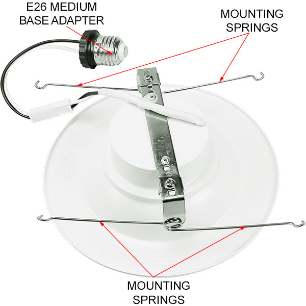 5-6 in. Retrofit LED Downlight - 15W Image