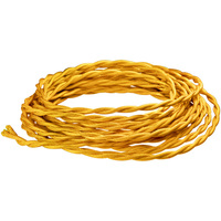 12 ft. - Rayon Antique Wire - Gold - 18 Gauge - Twisted Cord