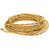 8 ft. - Rayon Antique Wire - Bronze - 20 Gauge - Twisted Cord