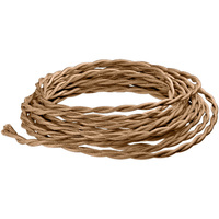 8 ft. - Rayon Antique Wire - Light Brown - 18 Gauge - Twisted Cord