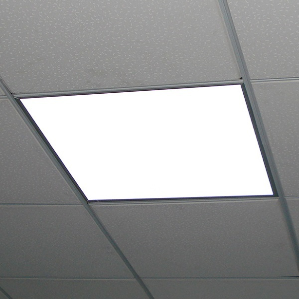 2x2 Ceiling LED Panel Light - 90 Minute Emergency Backup Image