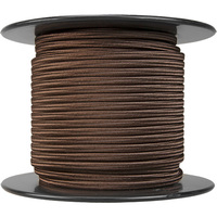 150 ft. Spool - Rayon Antique Wire - Brown - 18/2 SPT-1 - 2 Wire Parallel Cord