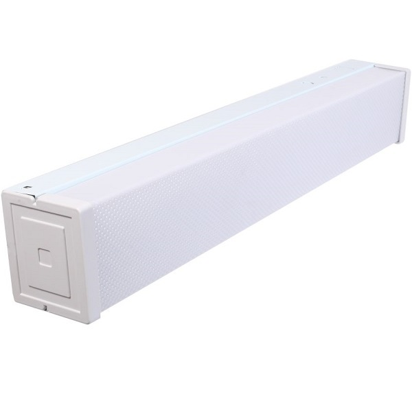LED Stairwell Fixture with Motion Sensor - 1990 Lumens Image