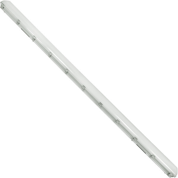 8 ft. LED Vapor Tight Fixture with Emergency Backup Image