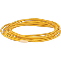 12 ft. - Rayon Covered Cord - Gold - 18 Gauge - Single Wire