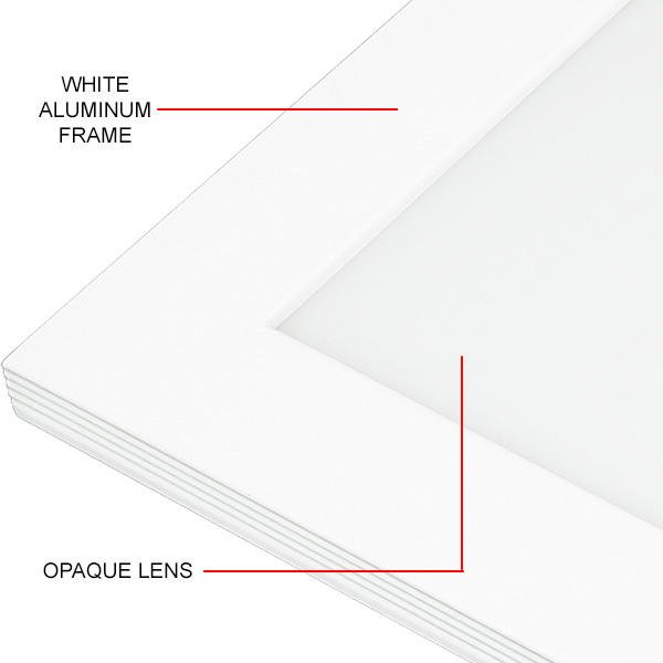 2x2 Ceiling LED Panel Light - 3500 Lumens - 28 Watt Image