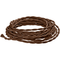 8 ft. - Rayon Antique Wire - Brown - 18 Gauge - Twisted Cord