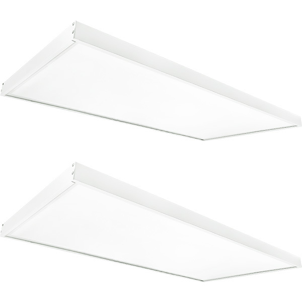 2x4 Ceiling LED Panel Light With Surface Mount Kit Image