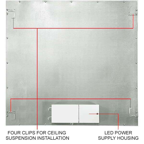 2x2 Ceiling LED Panel Light - 4111 Lumens - 32 Watt Image