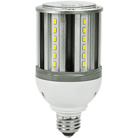 1700 Lumens - 14 Watt - LED Corn Bulb - 50W Metal Halide Equal - 3000 Kelvin - Medium Base - 120-277V - 5 Year Warranty