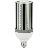 2800 Lumens - 22 Watt - LED Corn Bulb - 75W Metal Halide Equal - 3000 Kelvin - Medium Base - 120-277V - 5 Year Warranty
