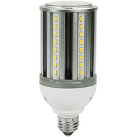 LED Corn Bulb - 18 Watt - 70 Watt Equal - Cool White - 2200 Lumens - 4000 Kelvin - Medium Base - 120-277 Volt - PLT-3102B