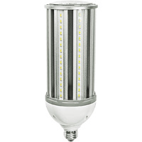 5900 Lumens - 45 Watt - LED Corn Bulb - 175W Metal Halide Equal - 4000 Kelvin - Medium Base - 120-277V - 5 Year Warranty