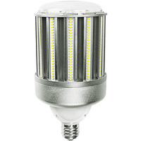 15,200 Lumens - 120 Watt - LED Corn Bulb - 300W Metal Halide Equal - 5000 Kelvin - Mogul Base - 120-277V - 5 Year Warranty