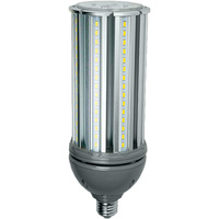 5350 Lumens - 45 Watt - LED Corn Bulb - 100W Metal Halide Equal - 4000 Kelvin - Medium Base - 120-277V - 5 Year Warranty