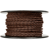 250 ft. Spool - Rayon Antique Wire - Brown - 20 Gauge - Twisted Cord
