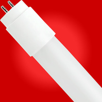 4 ft. T8 LED Tube - 1800 Lumens - 12.5 Watt - 5000 Kelvin - 120-277V - Ballast Must Be Bypassed - Single-Ended Power Must Use a Non-Shunted Socket - LifeBulb LBP8F1750B