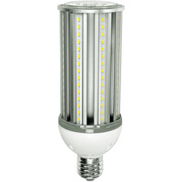 6000 Lumens - 45 Watt - LED Corn Bulb - 175W Metal Halide Equal - 5000 Kelvin - Mogul Base - 120-277V - 5 Year Warranty
