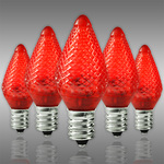 C7 LED - Red - Faceted Finish Image