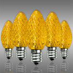 C7 LED - Yellow - Faceted Finish Image