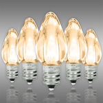 LED C7 - Warm White Deluxe - 0.96 Watt - Candelabra Base - Smooth Finish Image