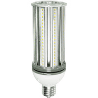 7200 Lumens - 54 Watt - LED Corn Bulb - 250W Metal Halide Equal - 5000 Kelvin - Mogul Base - 120-277V - 5 Year Warranty - Satco S29394