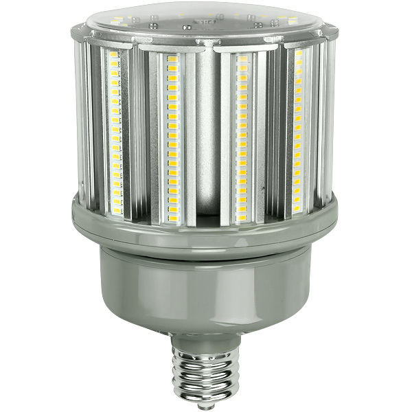 led corn bulb mogul base 9600 lumens 80w 5000k green