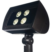 13,900 Lumens - LED Flood Light Fixture - 150 Watt - 4100 Kelvin - Height 15.22 in. - Width 9.98 in. - 120-277V - Maxlite 77619
