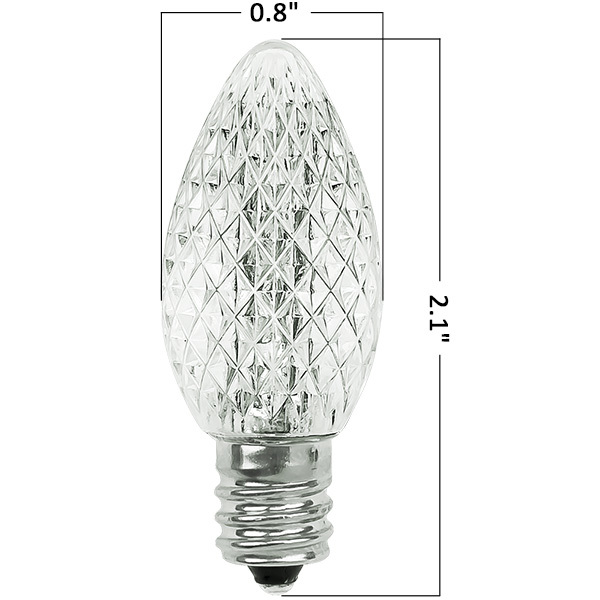 C7 Led Bulb >> Color Changing Led Replacement 25 Pack Hls Led C7 Sc