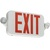 Single Face LED Combination Exit Sign - LED Lamp Heads Thumbnail