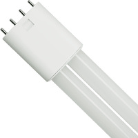 LED PL-L Lamp - 4-Pin 2G11 Base - 23 Watt - 2600 Lumens - 3500 Kelvin Replaces 40W CFL - Ballast Bypass - 120-277V - PLT-50158