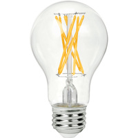 LED Victorian Bulb - 9 Watt - 60 Watt Equal - 810 Lumens - 2700 Kelvin - Incandescent Match - 120 Volt - Green Creative 98279